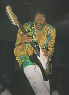 Jimi Hendrix -- even with his Military Service, was anyone more (well, other than the Beatles) more trippy hippy Sonically -- Thank God for creating Jimi Hendrix. He improved my life.