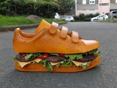 Shoe sandwich.. Way cool. Grab one :)