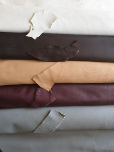 Beautiful leather and great variety of colors!