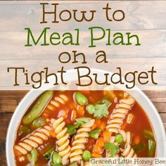 How to Meal Plan on a Tight Budget + FREE WEEKLY MEAL PLAN PRINTABLE