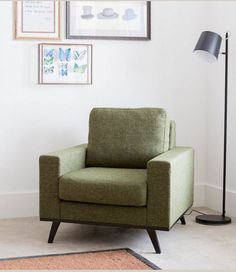 Groen haal je niet alleen in huis met planten! Love Seat, Accent Chairs, Armchair, Couch, Furniture, Home Decor, School, Lounge Chairs, Upholstered Chairs
