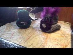 Mini crochet hats