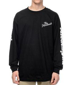 The Hundreds Bars Black Long Sleeve T-Shirt