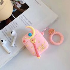 Airpod Case for Apple Airpods 12 Cute Funny Cartoon Soft Silicone Cover Kawaii Fun Cool Keychain Design Skin Fashion Color Cases for Girls Kids Boys Air pods Pink Electronics Electronics Accessories Ink-Accessories Mice-Input Devices