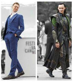 Tom vs Loki * Elegant actor, elegant character ♥♡