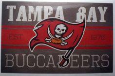 buccaneers old logo | Tampa Bay Buccaneers Vintage Banner Decal Sticker Team…