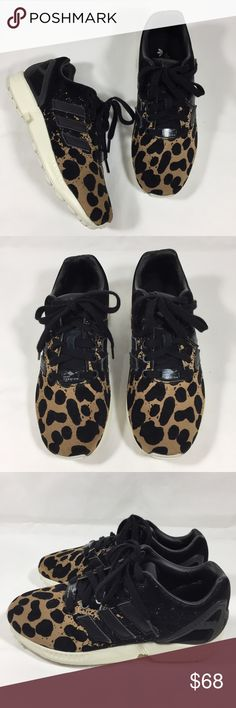 ADIDAS ZX Flux Black Cheetah Sneakers NEW 5.5 New without tags Adidas ZX Flux Cheetah Sneakers size 5.5  ◼️ I ACCEPT OFFERS THROUGH THE OFFER BUTTON.  ◼️ I CANT ACCEPT AN OFFER IF YOU DONT MAKE ONE :) . adidas Shoes Sneakers