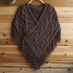 poncho tricot - Pesquisa Google Mais