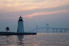 Lighthouse in Rhode Island