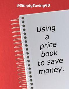 Using a price book to save money.  #SaveMoney #FrugalTips http://simply-saving.com/using-a-price-book-to-save-money/