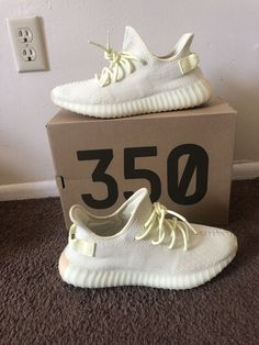 87a5796f13920f eBay  Sponsored Mens 100% Authentic Kanye West Yeezy Boost 350 V2 Butter  Shoes Size 10.5