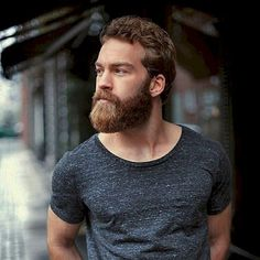 Cool and gentle full beard styles 37