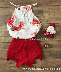 Crop Top Outfits, Short Outfits, New Outfits, Outfits 2016, Kids Outfits, Cute Outfits, Fashion Outfits, Summer Outfits For Teens, Spring Outfits