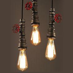36.13$  Buy here - https://alitems.com/g/1e8d114494b01f4c715516525dc3e8/?i=5&ulp=https%3A%2F%2Fwww.aliexpress.com%2Fitem%2FVintage-Pendant-Light-American-Industrial-Edison-Lamp-Water-Pipe-Style-E26-E27-Art-Luminaire-Decoration-Bar%2F32716996978.html - Vintage Pendant Light American Industrial Edison Lamp Water Pipe Style E26/E27 Art Luminaire Decoration Bar Restaurant Lighting 36.13$