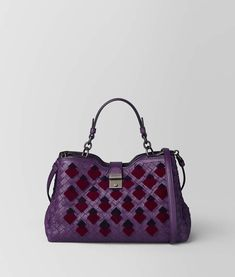 4fa3355abb87 Bottega Veneta MONALISA INTRECCIATO VELVET NAPOLI BAG Minimalist Bag