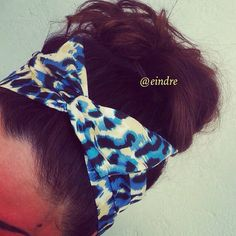 Hey, I found this really awesome Etsy listing at https://www.etsy.com/listing/128468215/blue-leopard-print-dolly-bow-headband