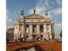 The Lviv Opera House is an architectural gem of Lviv, built in the Neo-Renaissance style in 1901, and one of the most beautiful theatres in Europe  ADDRESS: 28 Svobody Square