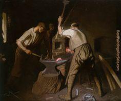 art George Clausen   Sir George Clausen paintings