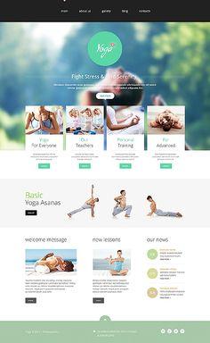 Template 48967 - Yoga Responsive Joomla Template