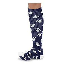 Paw Knee Socks by Cheerleading Company