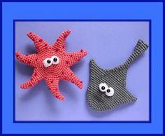 Amigurumi Sea Star : Amigurumi - sea creatures on Pinterest Amigurumi ...