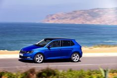 The car's new rigid body improves the ride, as does the new chassis. The wheelbase is 5 mm longer than in the previous Fabia Skoda Fabia, Vehicles, Cars, Nice Cars, Autos, Car, Car, Automobile, Vehicle