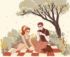 hades & persephone picnic