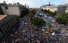 El caos se adueña de las calles de Buenos Aires