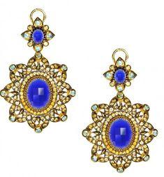 Axenoff Jewellery » Earrings «Rogneda»