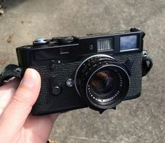 """I've been shooting with an original black paint Leica M4 I picked up the other day and don't ever see myself selling it. It's such a lovely camera and feels perfectly balanced with the 35mm f/1.4 Summilux pre ASPH. I really like this version of the lens as I feel it creates more of a """"classic"""" Leica aesthetic than the later lenses even when mounted on a digital camera. Only issue with this camera is it doesn't have much brassing yet. That's something I aim to fix! #cameracult #leica #leicam4…"""