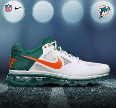 NIKE TRAINER 1.3 MAX BREATHE – 2012 NFL DRAFT PACK Dolphins