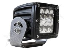 Rigid Industries 52231 D-Series; Dually D2; Driving LED Light, Black