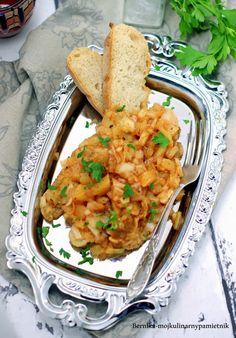 Bernika - mój kulinarny pamiętnik: Ryba pod ananasową pierzynką