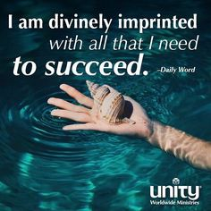 Breathe in the truth of this affirmation from today's Daily Word. #Unity