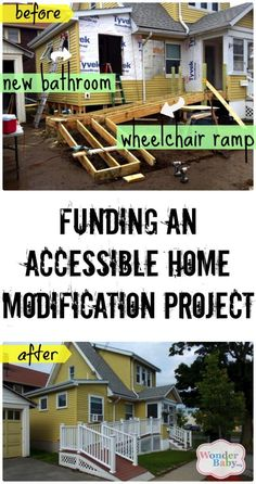 This Family Funded An Accessible Bathroom And Wheelchair Ramp With Grants The Article Tells How