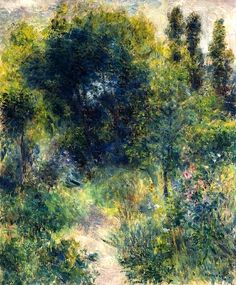 Auguste Renoir - Garden