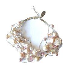 Aidot helmikorut makeanveden helmistä - Verkkokauppa Korulipas Pearl Jewelry, Pearl Necklace, Glass Beads, Helmet, Ivory, Pearls, Crystals, Silver, Gold