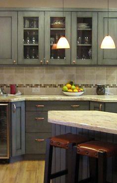 Kitchen Other Levinsmall Blue Green Kitchen Cabinets Ideas