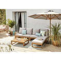 Salon de jardin chaise et table de jardin pour profiter de l été
