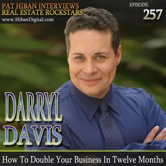 Darryl Davis became a real estate agent at the age of 19 and quickly climbed the ladder to become a Top Producer averaging 6 transactions a month. Then a Licensed Broker and manager of a new office that became the #1 listing and selling branch within its first 6 months of operation... #realestate #podcast #pathiban #hibandigital #hibangroup #HIBAN #realestatesales #realestateagent #realestateagents #selling #sales #sell #salespeople #salesperson #darryldavis