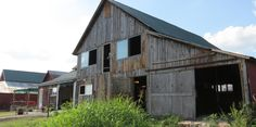 The south side of the Wedding Barn. Still to be built is a landing and stairway up to the second floor of the barn. To the west of the Wedding Barn is the Pond Pavillion and Work Barn at       Westwoods' Civil War Ranch. (Pictures by Lena & Leif Baron)