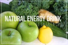 Get Your Juice On: Green Go-Go Drink