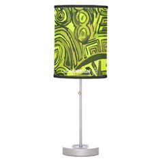 Lámpara Symbols Green