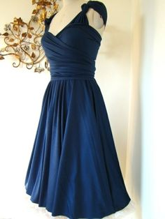 navy and coral bridesmaid dresses under 100 - Google Search