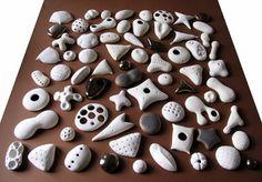 """Stella Zadros, ceramic sculpture- """"Garden"""", 2008, 80 x 80 cm, www.stellaart.com"""