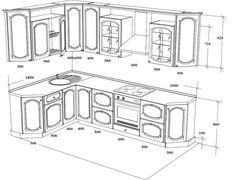 какие размеры полок для кладовой на кухне - Поиск в Google