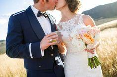 Military Fall Wedding | COUTUREcolorado WEDDING: colorado wedding blog + resource guide
