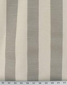 Stripe Coastal Grey / Natural Slub