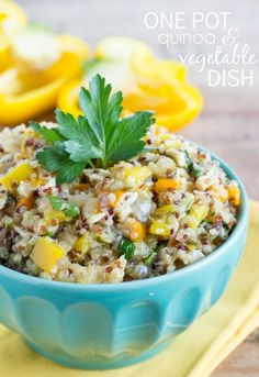 One Pot Quinoa & Vegetable Dish   Chelsea's Messy Apron