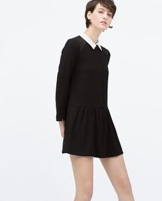 Discover the new ZARA collection online. Zara, Nice Dresses, Dresses For Work, Jumpsuit Dress, Jumpsuit Style, Color Negra, Mannequin, Jumpsuits For Women, Dress To Impress